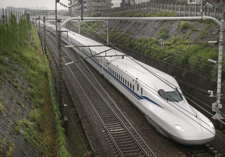 Japan Debuts New Bullet Train That Can Run Safely In An Earthquake